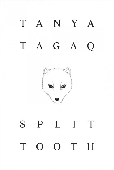 Cover art for book, Split Tooth